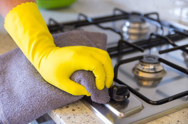 Kitchen cleaning tips : how to keep kitchen clean daily