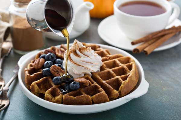 pumpkin waffles recipe easy