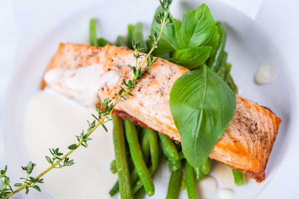 green beans and salmon recipe