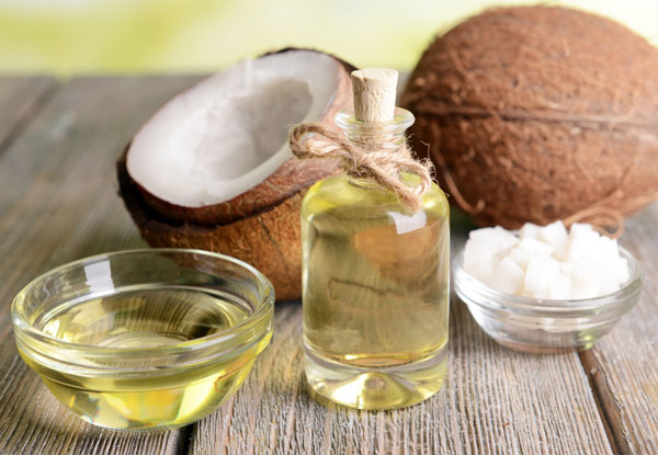 Coconut oil therapy for well-conditioned, strong hair
