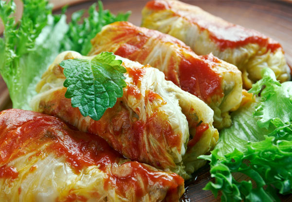 stuffed cabbage rolls recipe