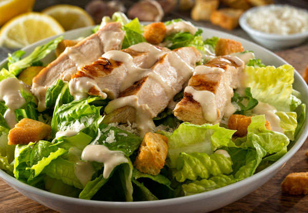 Salad With Parmesan Dressings