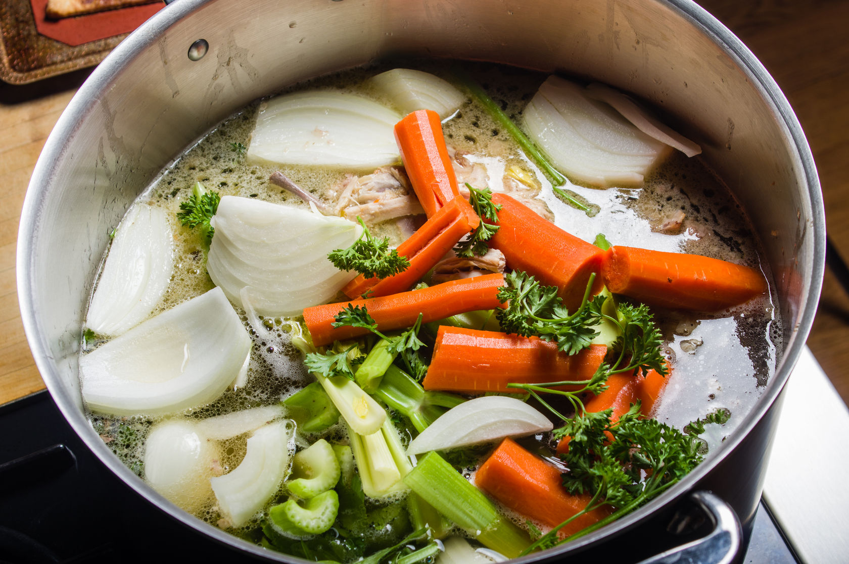 best vegetable broth recipe