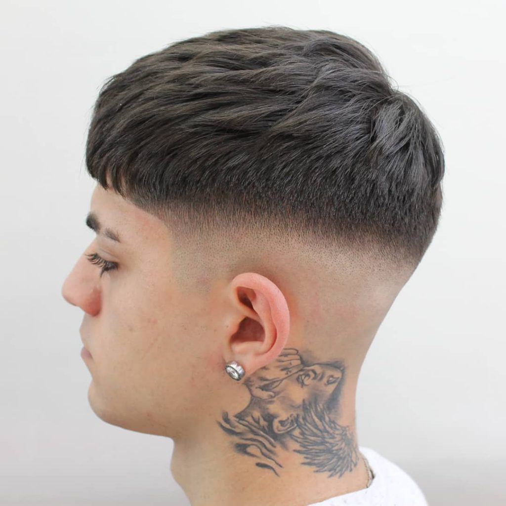 Classic French With High Fade