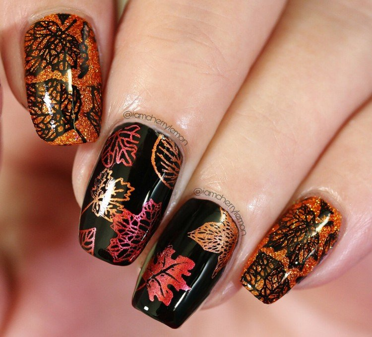 Autumn stamping