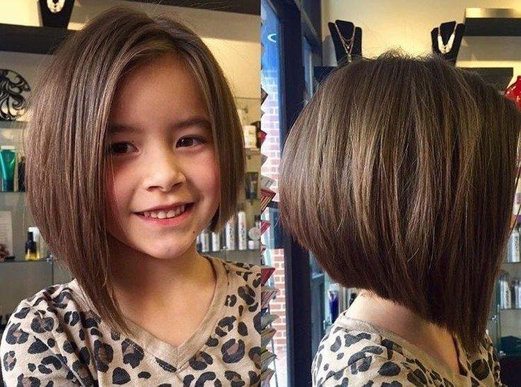 Bob for girls for short hair