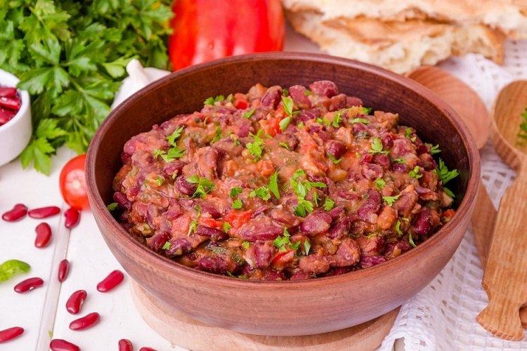 Canned Bean Lobio